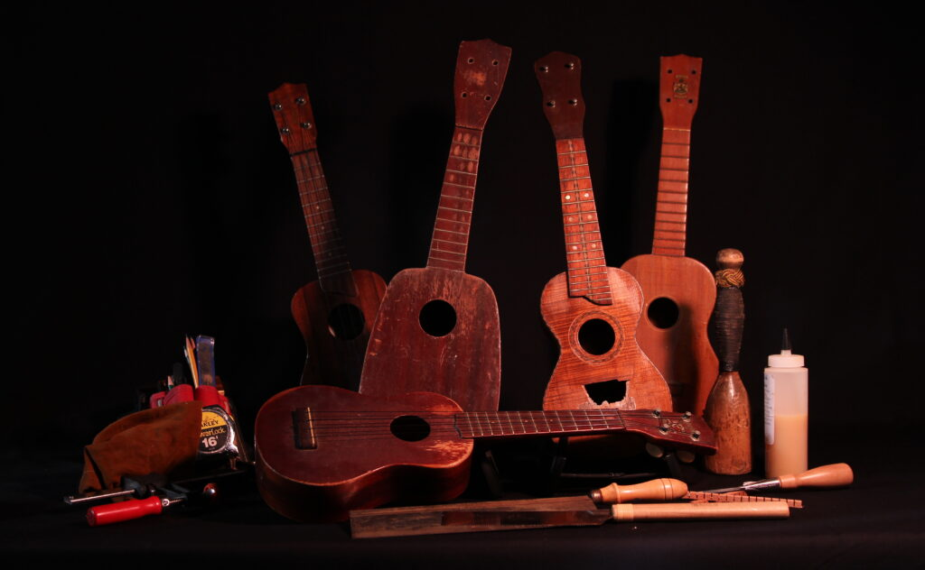 broken ukuleles can be fixed