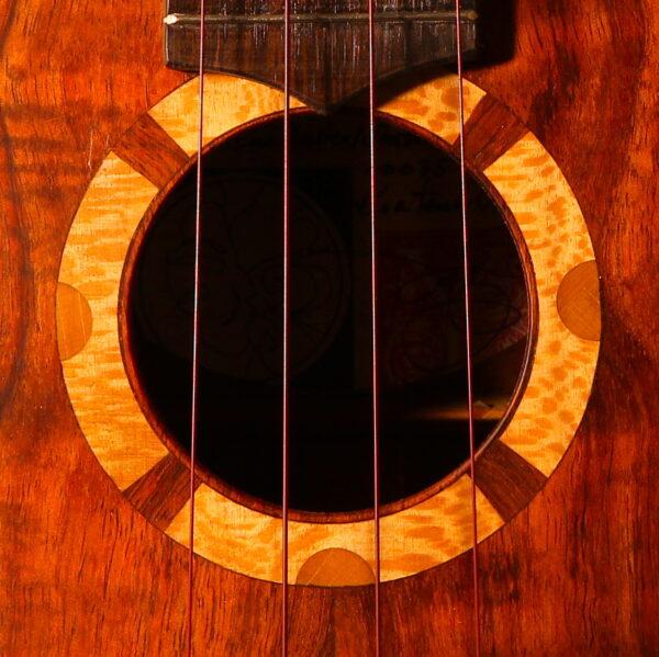 Royal Hawaiian soundhole detail